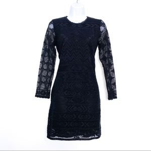 ISABEL MARANT for H&M Black Lace 'Pour' Dress